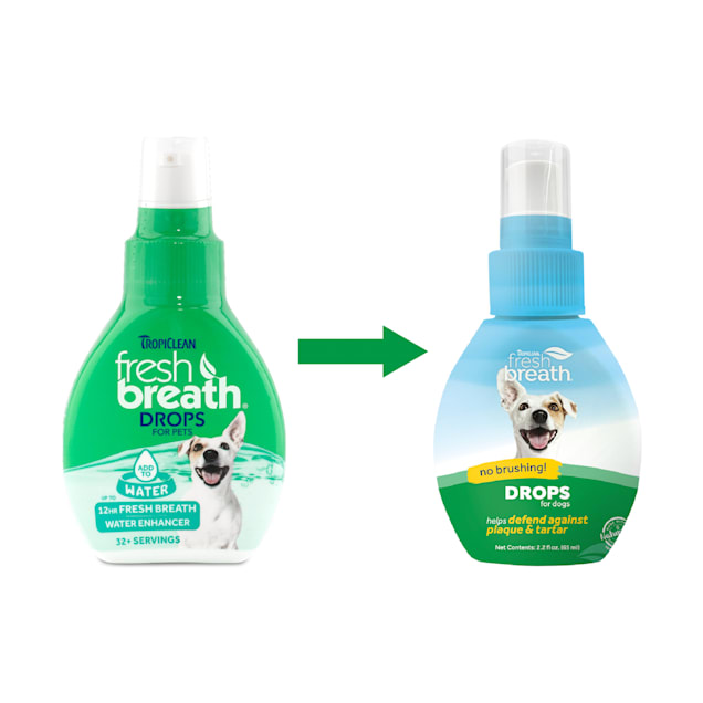 Fresh Breath Drops Dog (65ml)