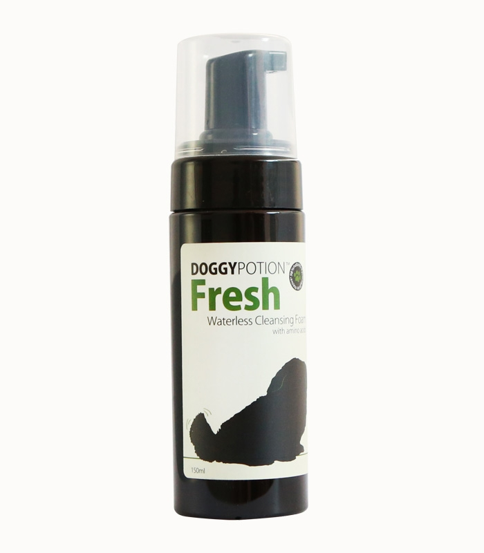 Doggy Potion Fresh Waterless Cleansing Foam 150ml