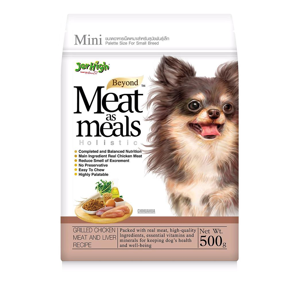 Jerhigh Meat as Meals Chicken and Liver(500G)