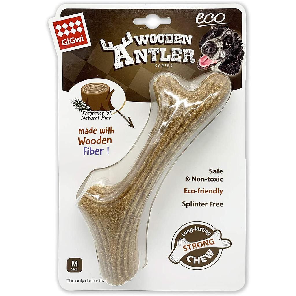 Gigwi Dog Chew Wooden Antler M