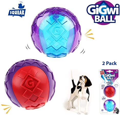 Gigwi Ball Squeaker M Size 2PK