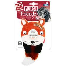 Gigwi Fox Plush Friendz with squeaker