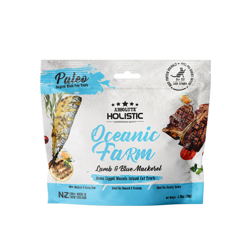 Absolute Holistic Air Dired Cat Treat (Oceanic Farm) 50g AD6710